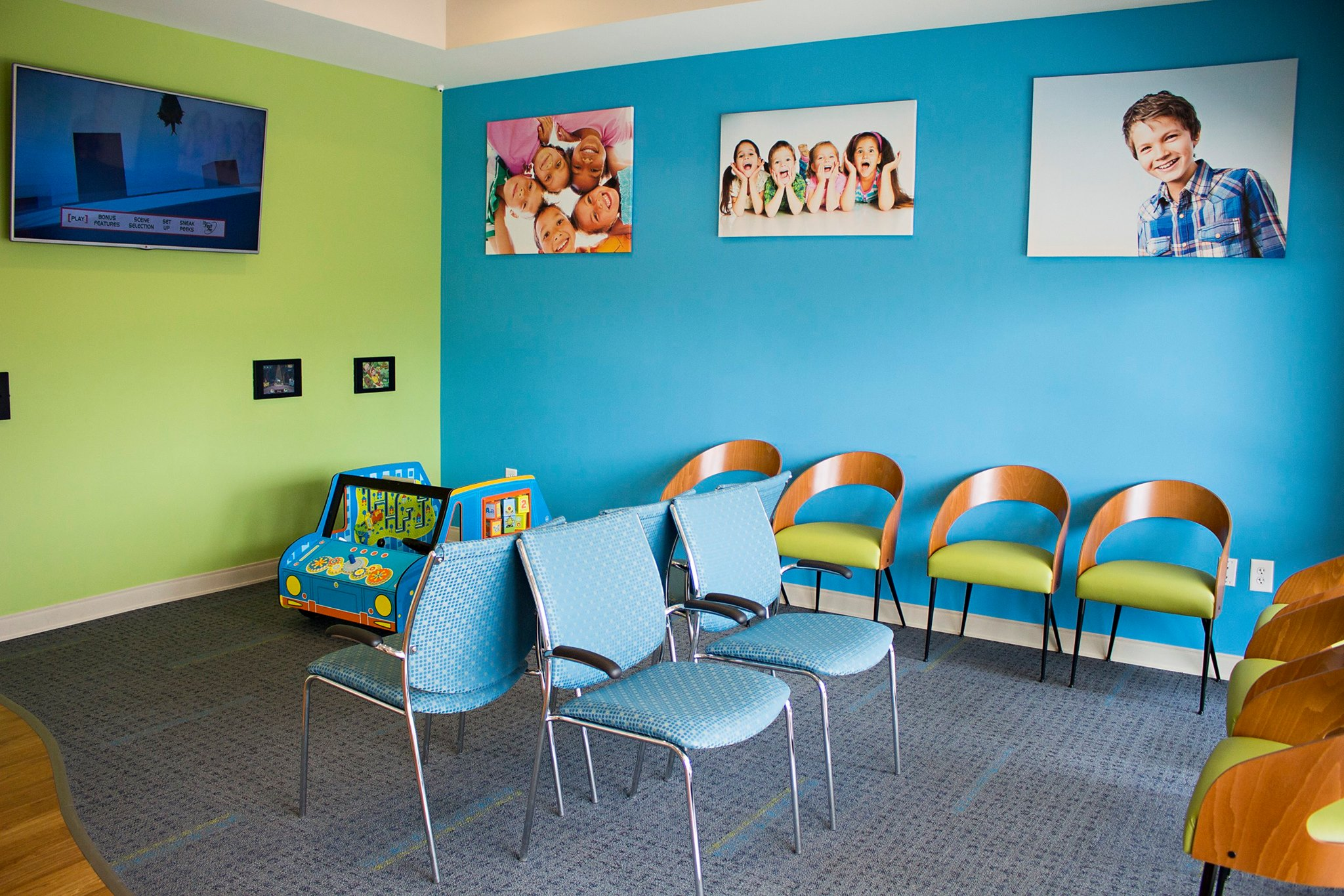 Reception VIlla Rica Pediatric Dentist